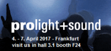 CODA AUDIO на выставке PROLIGHT + SOUND 2017